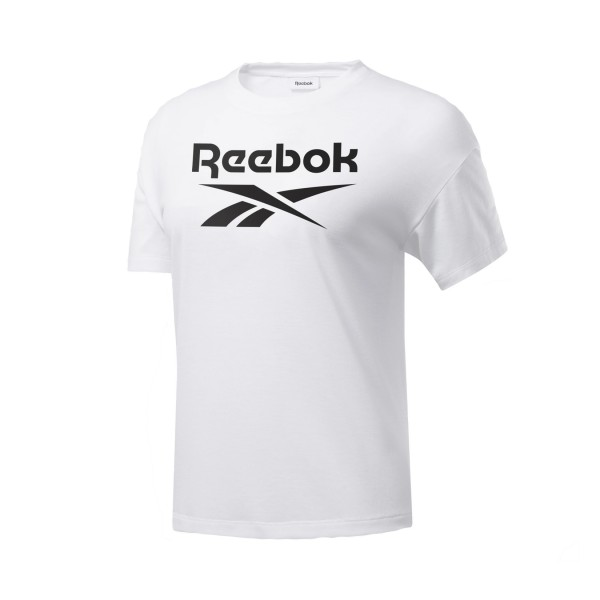 Reebok Workout Ready Supremium Logo Tee White