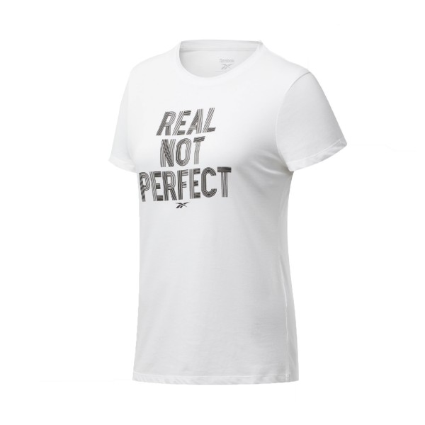 Reebok Training Essential Graphic Tee White