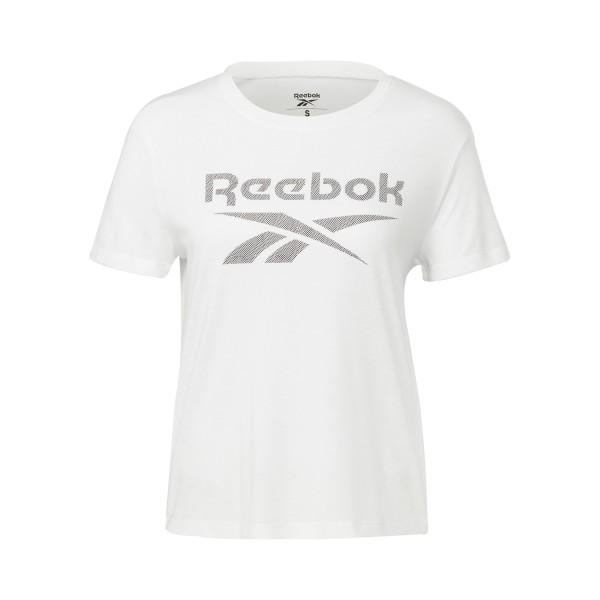 Reebok Workout Ready Supremium Big Logo Top White