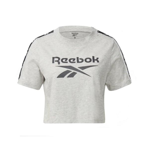 Reebok Training Essentials Tape Μπλουζα Γκρι