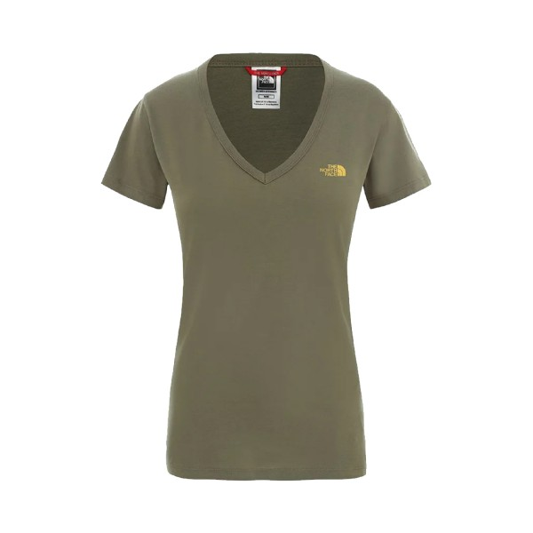 The North Face Simple Dome Short Sleeve Khaki