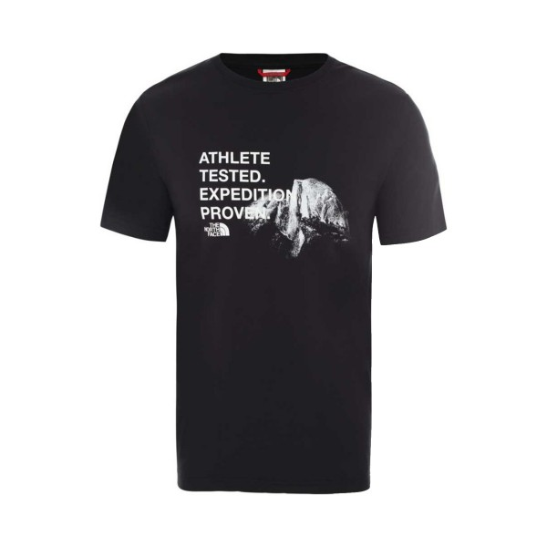 The North Face Athlete Tested Tee Black