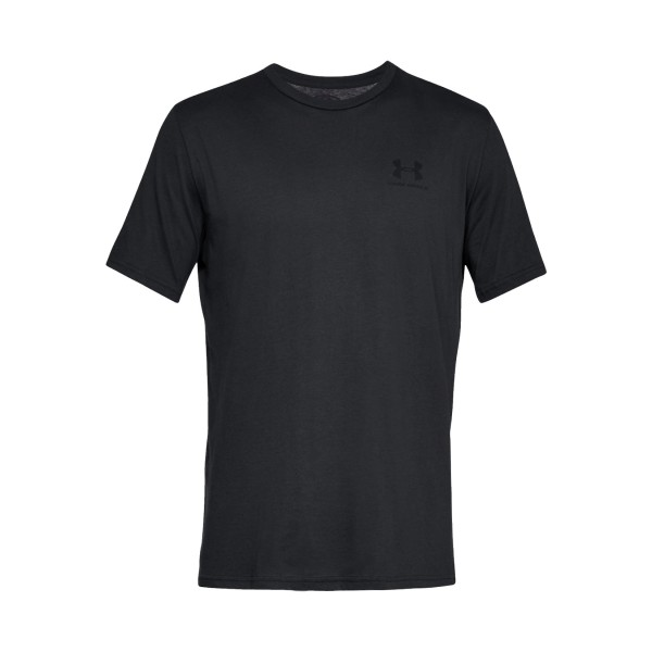 Under Armour Sportstyle Left Chest Tee Black