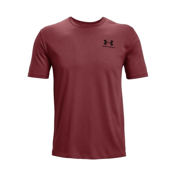 Under Armour Sportstyle Left Chest Tee Burgundy