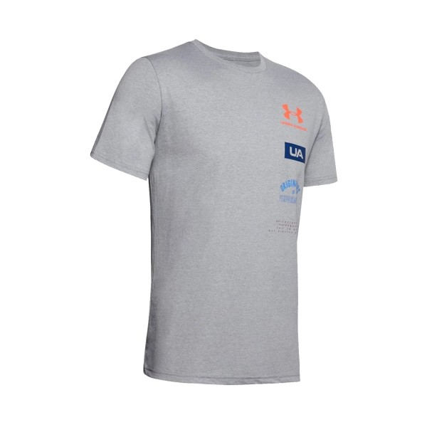 Under Armour Originators Of Performance Back Tee Grey