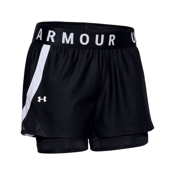 Under Armour Play Up 2 In 1 Short Black