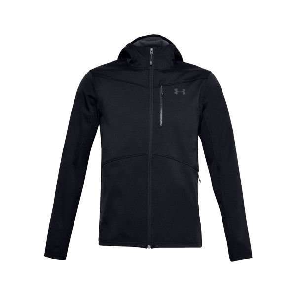 Under Armour GoldGear Shield Hooded Jacket Black