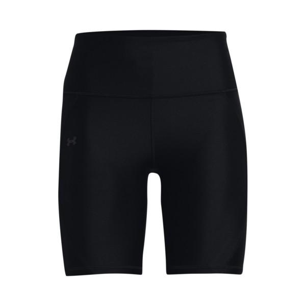 Under Armour Heatgear Shine Bike Shorts Μαυρο