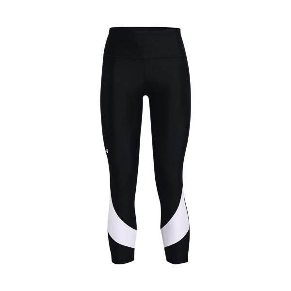 Under Armour Heatgear Taped 7/8 Leggings  Black