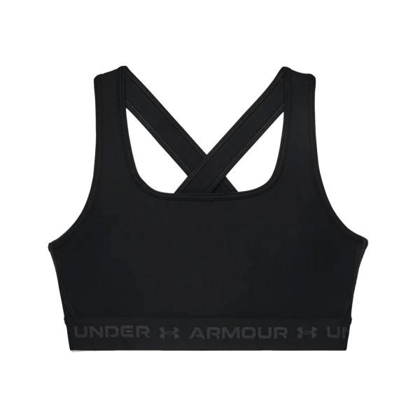 Under Armour Crossback Mid Sport Bra Black