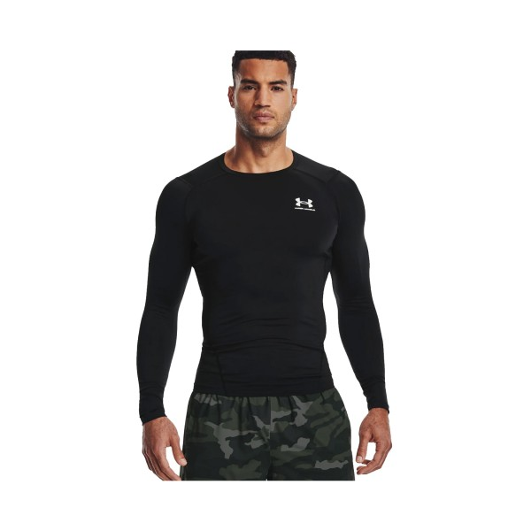 Under Armour Heat Gear Comp Training Ανδρικη Μπλουζα Μαυρη