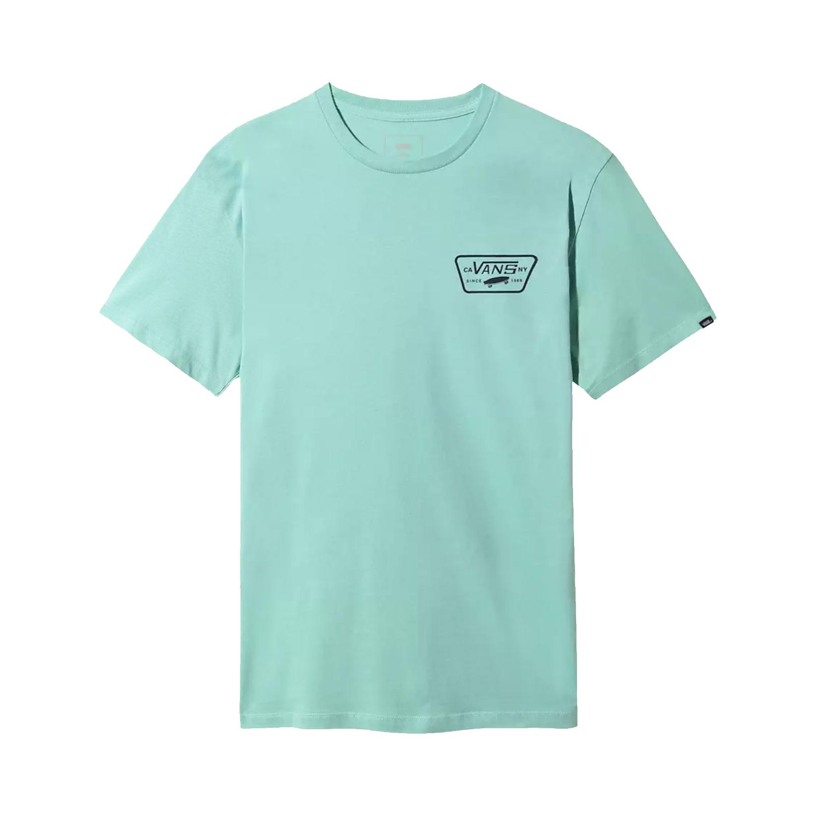 Vans Full Patch Back SS T-Shirt Dusty Jade Green