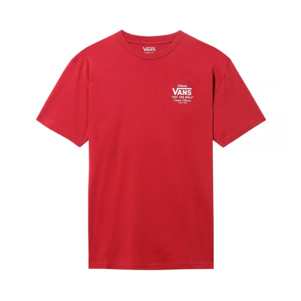 Vans Holder St Classic Tee Red
