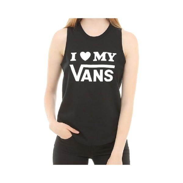 Vans Love Tank Black