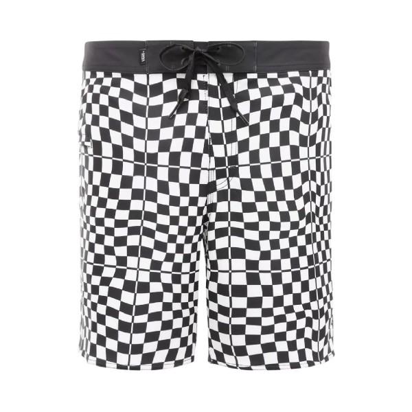 Vans Mixed Boardshorts 18'' Μαγιο Λευκο - Μαυρο