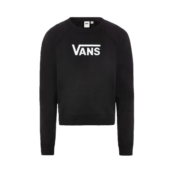 Vans Flying V Boxy Crew Sweater Black