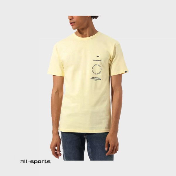 Vans Distortion Type T-Shirt Double Cream