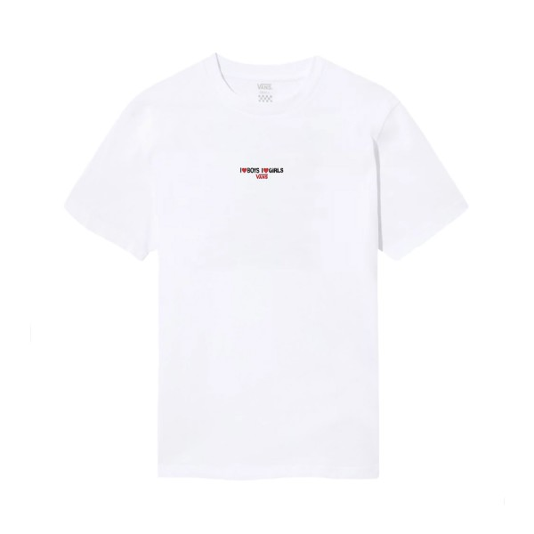Vans Boys Girls T-Shirt White
