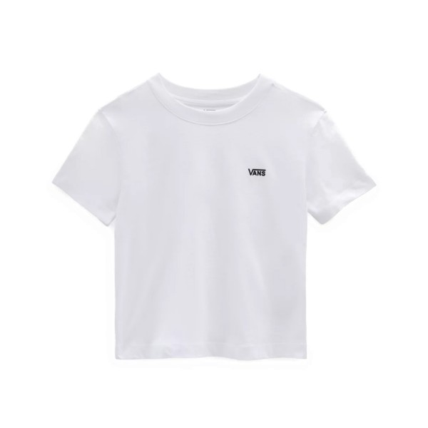 Vans V Boxy Γυναικεια Μπλουζα Λευκη