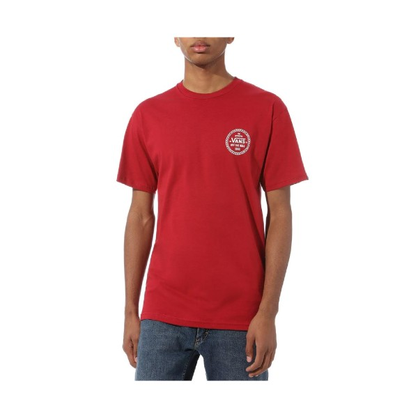 Vans Checker 66 T-Shirt Red