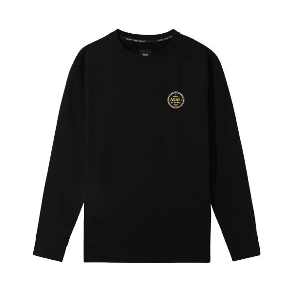 Vans Classic Checker 66 Crew Sweatshirt Black
