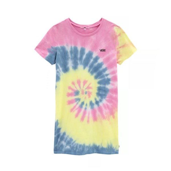 Vans Spiraling Tee Dress Multicolor