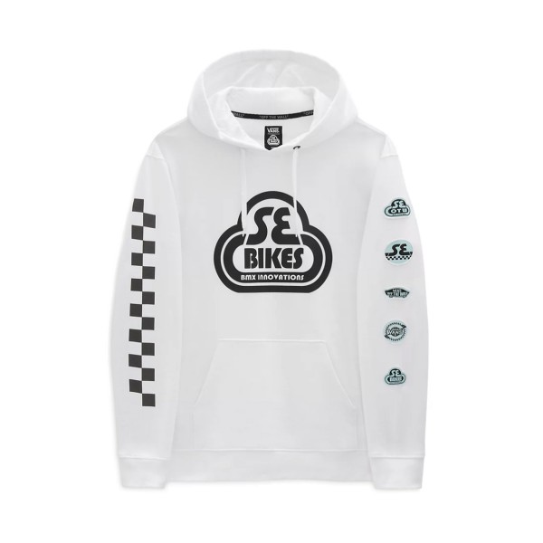 Vans X SE Biker Hoodie White