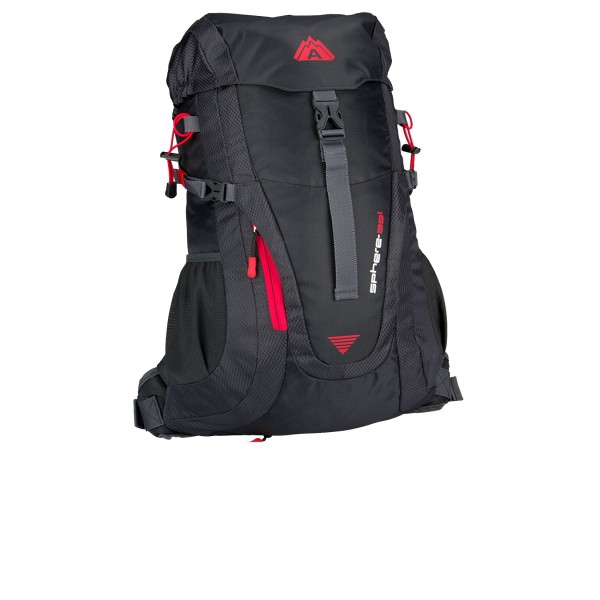Abbey Aero Fit Sphere 35L Black - Red