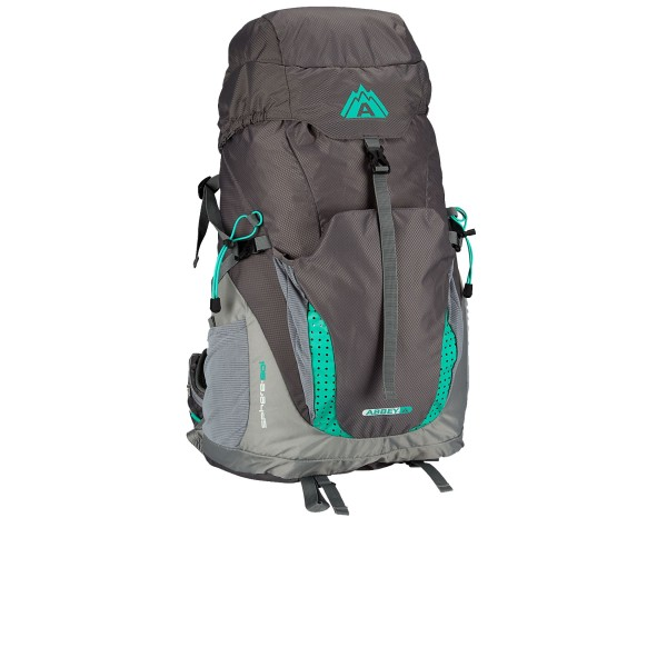 Abbey Aero Fit Sphere 50L Grey - Emerald