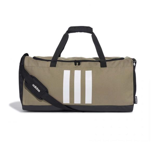 Adidas 3-Stripes Medium Duffel Bag Green