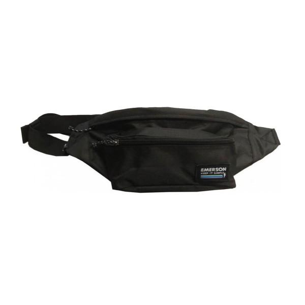 Emerson Waist Bag Unisex Black
