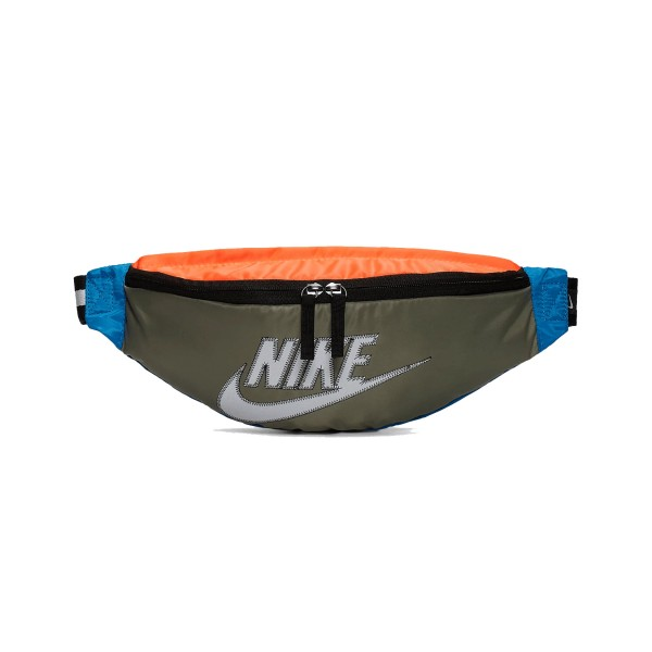 Nike Sportswear Heritage Hip Pack Olive - Orange - Blue