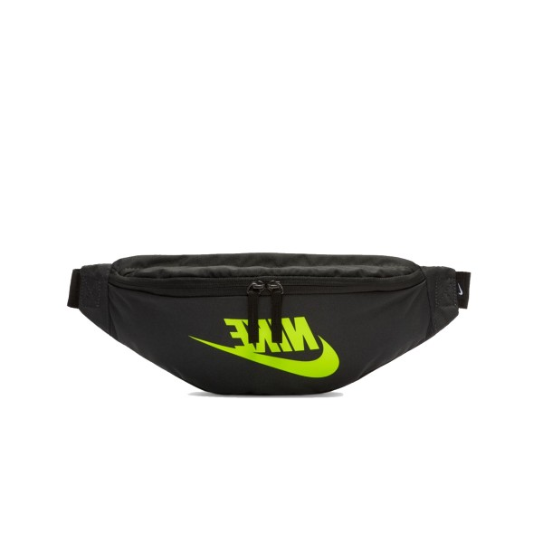 Nike Heritage Hip Pack Black - Lime