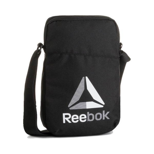 Reebok Sport Active Foundation Logo City Bag Black - White