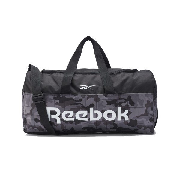 Reebok Active Core Grip Duffel 49L Medium Black - Camo