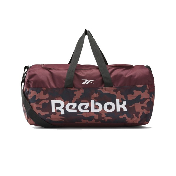 Reebok Active Core Grip Duffel 49L Medium Burgundy - Camo