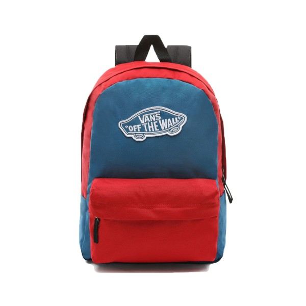 Vans Logo  Off The Wall Blue - Red