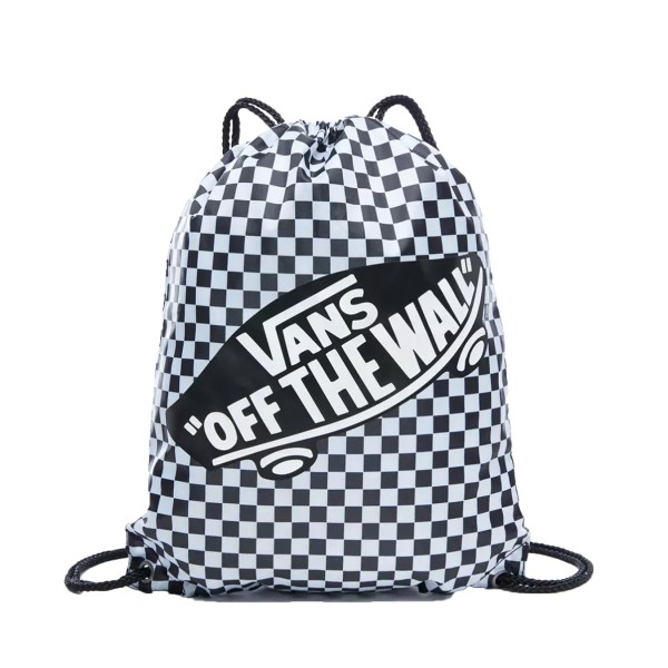 Vans Checkerboard Benched Bag White - Black