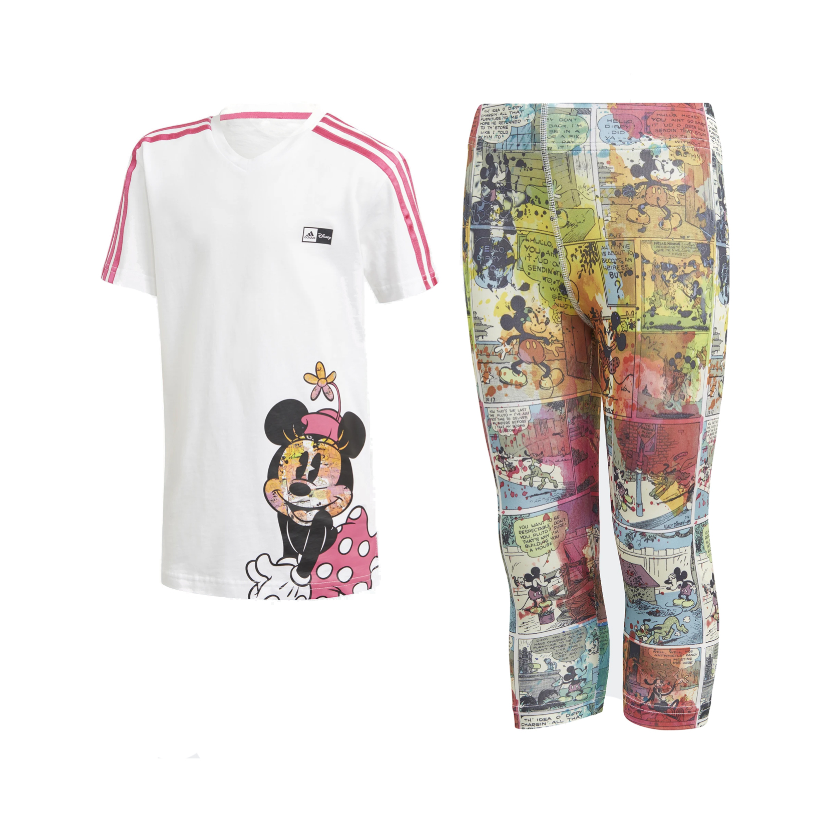 Adidas Minnie Mouse Summer Set White - Multicolor